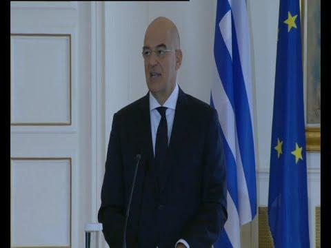 Κοινές δηλώσεις Ν.Δένδια- Σ. Λαβρόφ: Δικαίωμα της Ελλάδος η επέκταση στα 12 ναυτικά μίλια