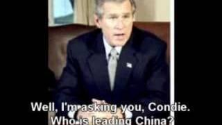 George Bush at his best Video