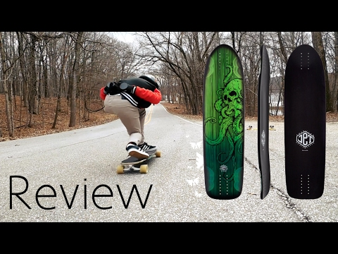 Jet Vulcan Rocker Longboard Deck *Review*