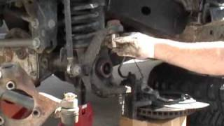 Jeep JK Ball Joint Installation - Part 1 of 2 Removal