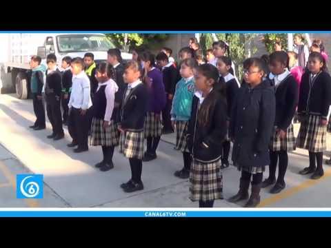 Inauguran módulo sanitario en la primaria Cuauhtémoc de Pueblo Nuevo Coatepec
