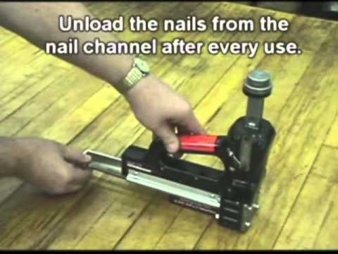 Powernail Models 101 & 101R Care and Maintenance