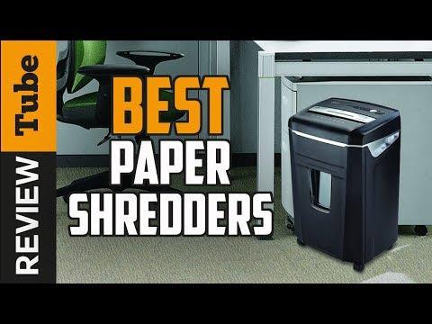 ✅Paper Shredder: Best Paper Shredder 2019 (Buying Guide)