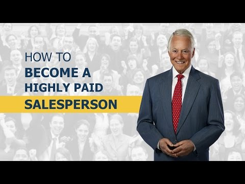 How To Become A Highly Paid Sales Person