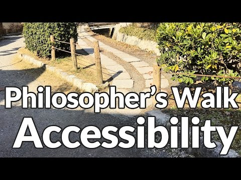 Philosopher's Walk in Kyoto Accessibility Review