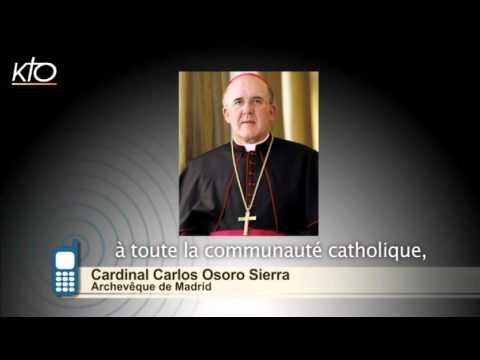 #PrayForParis - Cardinal Carlos Osoro Sierra