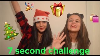 7 Second Challenge Natalizia! || The Sisters ||