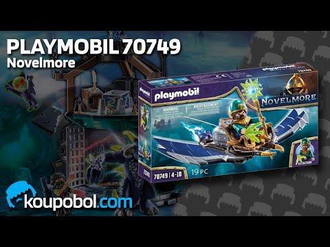 Vidéo PLAYMOBIL Novelmore 70749 : Violet Vale - Magicien volant