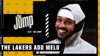 Carmelo Anthony brings what the Lakers need – Ramona Shelburne   The Jump