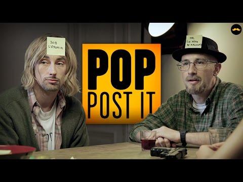 POP POST-IT de Lucien Maine pour Golden Moustache (Rôle du Professeur Xavier)