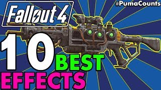 Top 10 Best and Most Powerful Legendary Weapon Effects in Fallout 4 (Including DLC) #PumaCounts