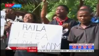 Malindi residents protest against Woman Rep Aisha Jumwa and Governor Amason Kingi