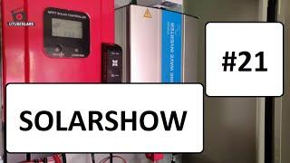 Solarshow 21Deine Solaranlage auf meinem Kanal Solar DIY Profi System #utuberlars