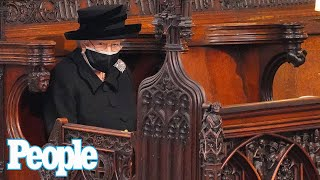 Prince Philip's Funeral: Tearful Moments w/ Queen Elizabeth, Prince William & Prince Harry | PEOPLE