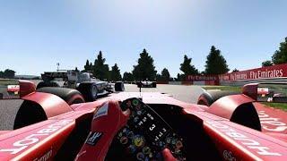 F1 2017 - Realism Mode (NO HUD + COCKPIT) 4k 60fps