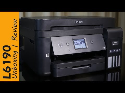 Epson L6190 review – Ink Tank Printer, for office use, with FAX, price Rs. 24,000
