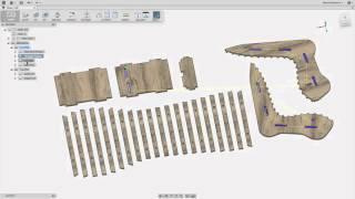 Fusion 360: ShopBot Chair
