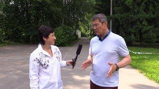 Глава округа Красногорск Радий Хабиров - о магазине инвестпроектов и рождении сына