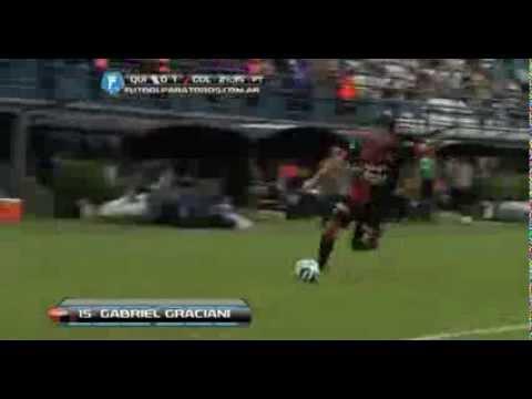 Gabriel Graciani (Colon) Fantastic Goal vs Fecha 19/02/2014
