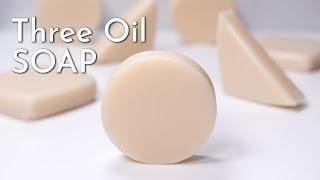 Three Oil Soap | Cold Process Soapmaking