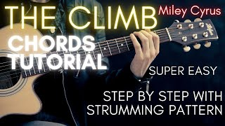 Miley Cyrus - The Climb Chords (Guitar Tutorial)