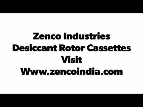 Desiccant Silica Rotors
