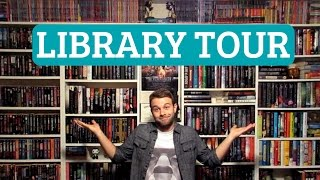 HUGE PRIVATE LIBRARY TOUR! (2016)