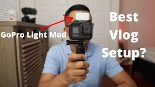 GoPro Hero 8 Black Vlog Setup To Save You $$$ - GoPro Light Mod LED