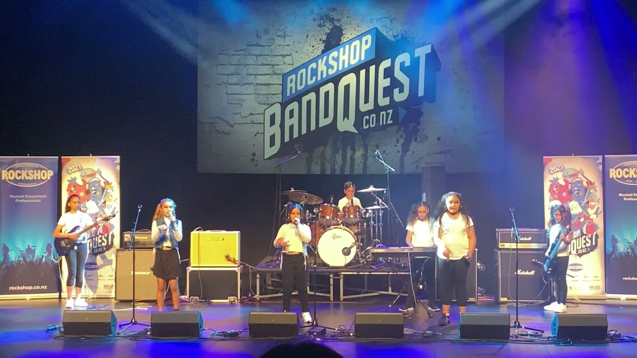 GreVouS at Bandquest 2021 winning 2nd place.