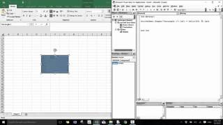 Introduction to Excel VBA  - Module 14 (Moving Shapes)