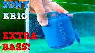 SONY SRS XB10 - Recenzja, Test basów, wodoodporności