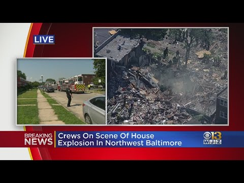 'It's A Mess' | Neighborhood Rocked After 1 Killed In Gas Explosion In NW Baltimore