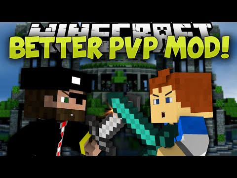 Minecraft Mods | BETTER PVP!!! | Armor GUI, Auto Sprint, and MORE! | Mod Showcase