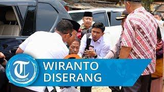 Menkopolhukam Wiranto Ditusuk Pelaku dengan Senjata Tajam saat Kunjungan Kerja di Pandeglang