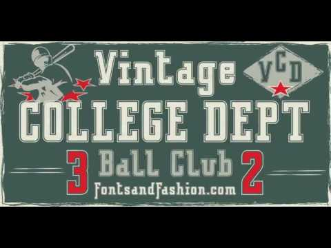 mp4 College University Font, download College University Font video klip College University Font