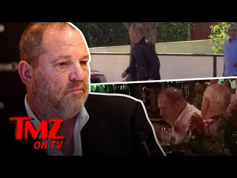 Harvey Weinstein, Reduced to Eating in a Strip Mall | TMZ TV