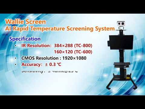 ACE Biotek-Wallie Screen AI Rapid Temperature Screening System
