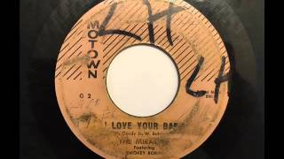 MIRACLES - I LOVE YOUR BABY - MOTOWN G2, 45 RPM!