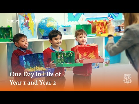 A Day in the Life of Year 1 and Year 2