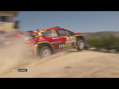 WRC 2 - Rally Italia Sardegna 2019: Event Highlights