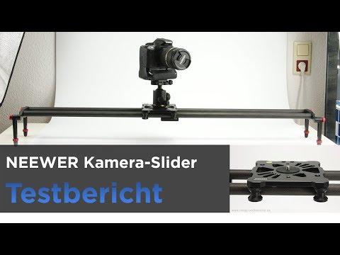 Neewer Kamera-Slider, Kameraschiene, Dolly im Test - Aus Carbonfaser und Aluminium