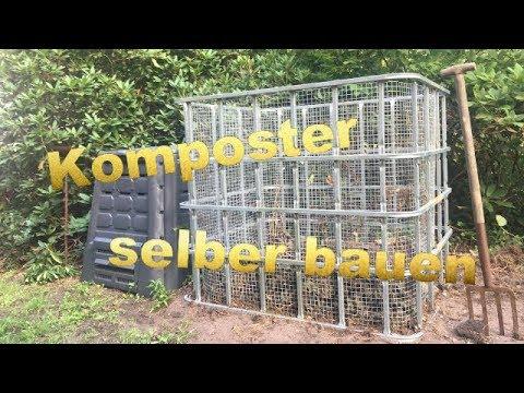 Komposter selber bauen - der hält Jahrhunderte 😉😃