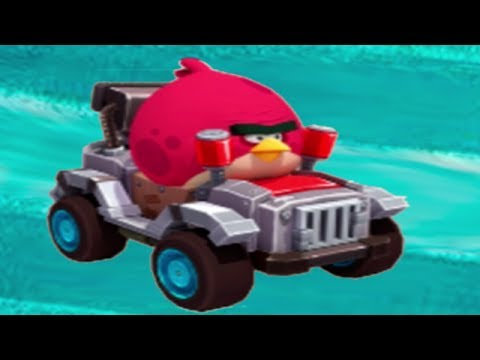 Angry Birds Go! character reveals: Terence - смотреть онлайн