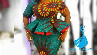 Stylish And Gorgeous Ankara/Lace Asoebi Styles For Creative Ladies: 2019 Ankara Collection
