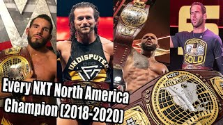Every NXT North America Champion (2018-2020)