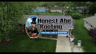 Beautiful New Roof Installed by Honest Abe Roofing!