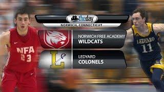Full replay: Ledyard at NFA boys' basketball