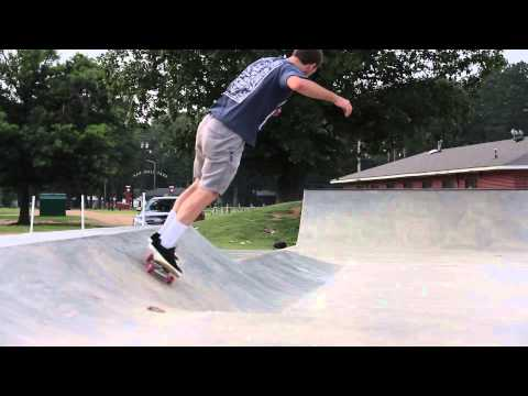 Nate Perkins Westpoint Skatepark Lone Session