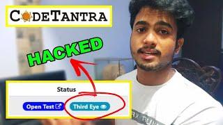 Codetantra THIRD EYE Solution | How to crack codetantra third eye exam