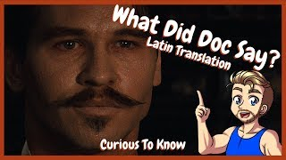 Tombstone Latin Translation - Curious To Know